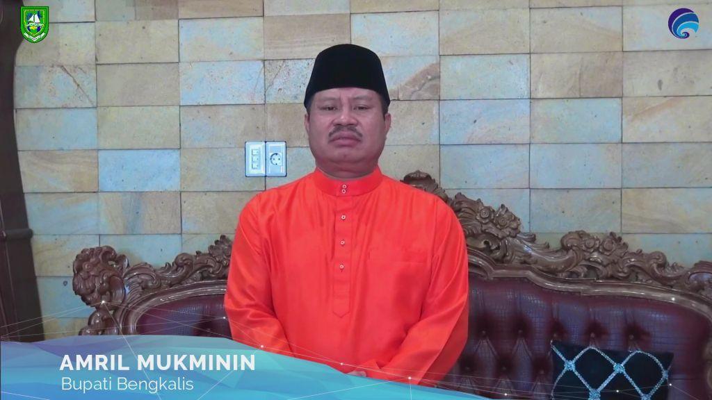 Diskominfotik-Bupati Amril Ucapkan Selamat Pustaka Desa Jangkang Terbaik se-Riau