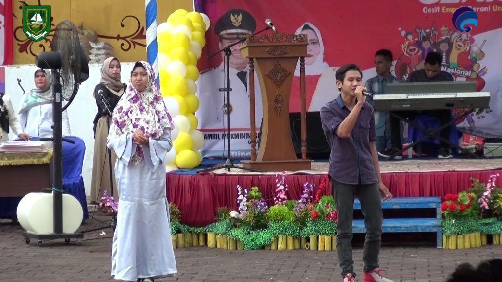 Diskominfotik-Merinding...!!! Suara Emas Siswa Penyandang Disabilitas Menyanyikan Lagu D'Masiv Jangan Menyerah