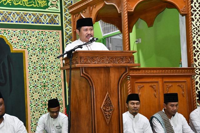 Diskominfotik - Bupati Bengkalis Safari Ramadhan di Kecamatan Rupat Utara