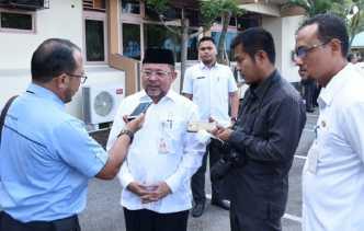 """Sekretaris Daerah H Bustami HY: """"Kondisi Keuangan Daerah Cukup Bagus"""""""