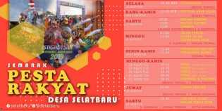 Desa Selatbaru Akan Menggelar Pesta Rakyat