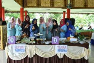 Mantap, DWP Bengkalis Raih Juara Pertama Lomba Buat Kue Khas Melayu