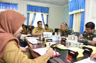Disdalduk-KB Gelar Rapat Persiapan Pelaksanaan Pencanangan Keluarga Berencana 2019