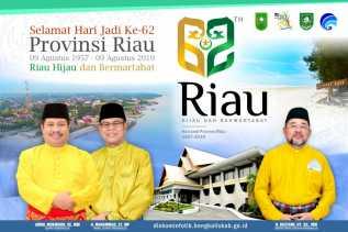 Jumat Mendatang, Pemkab Bengkalis Laksanakan Upacara Hari Jadi ke-62 Provinsi Riau