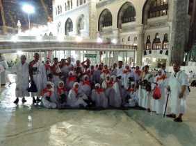 Tiba di Makkah, JCH Bengkalis Langsung Kerjakan Umroh Wajib