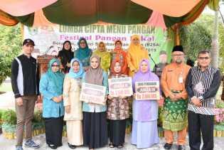 Kecamatan Bantan Raih Juara I Lomba Cipta Menu Berbahan Lokal