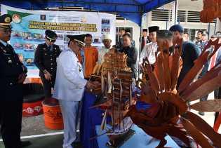 Bupati Bengkalis Borong Hasil Karya Penghuni Lapas Bengkalis
