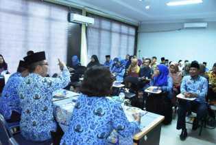Dinas Perpustakaan dan Kearsipan Gelar Pelatihan Bagi Pengelola Kearsipan