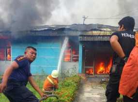 Selama 2017, Sebanyak 50 Unit Rumah Terbakar