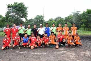Pemuda Dusun Indah Sari Gelar Turnamen Futsal
