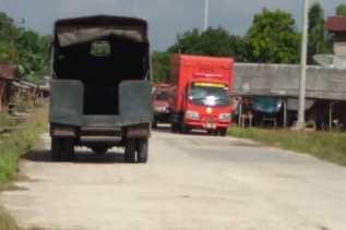 Diguyur Gerimis, Hari Ini Kabut Asap di Kecamatan Rupat Berkurang