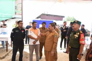 Bupati Bengkalis Tinjau Kesiapan Pemilu Tiga Kecamatan