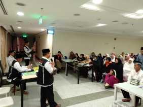 Sebelum ke Mekkah, JCH Kabupaten Bengkalis Ikuti Pembinaan Manasik Haji di Madinah