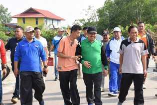 Bupati Amril Ajak Warganya Gelorakan Kembali Semangat Gotong Royong