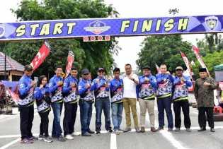 Bupati Amril Apresiasi Kejurda Balap Motor Korwil IMI Bengkalis Championship