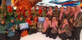 Diwakili TP PKK Kabupaten Bengkalis, Riau Juara Umum Masak Menu Serba Ikan
