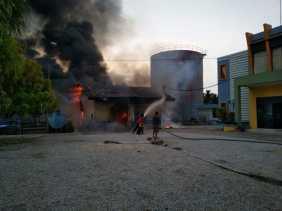 Hingga Pertengahan 2018, Damkar Tangani 116 Kasus Kebakaran.