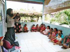 FAN-KEBTAN Sosialisasi Bersama Anak-anak Suku Asli