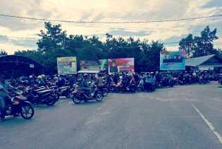Di Pelabuhan Ro-Ro Air Putih, Antrian Sepeda Motor Melonjak Tajam
