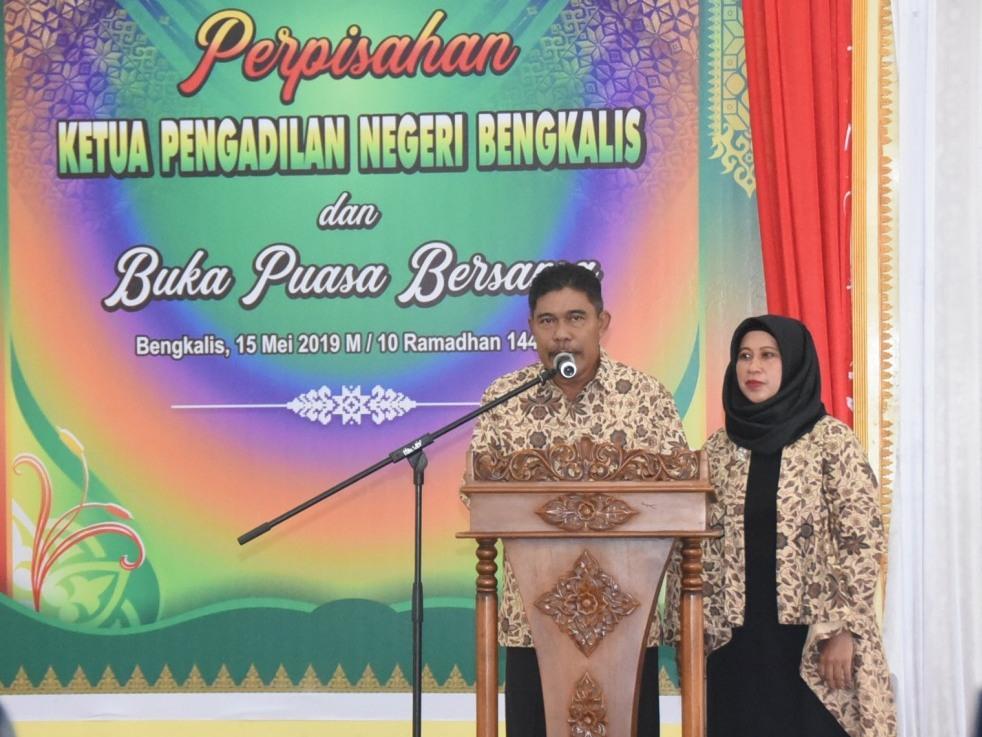 Pindah ke PN Surabaya, Sutarno: Terima Kasih Pemkab Bengkalis