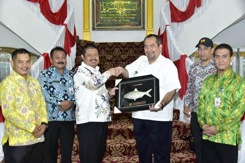 Kasubdit Wilayah I Kementerian PUPR  Darmawel Umar Apresiasi Kesiapan Bupati Amril Mukminin
