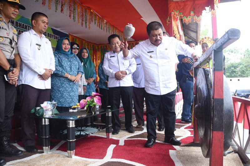 "Bupati Amril Mukminin, ""Musyawarah dan Gotong Royong Harus Dikedepankan"""
