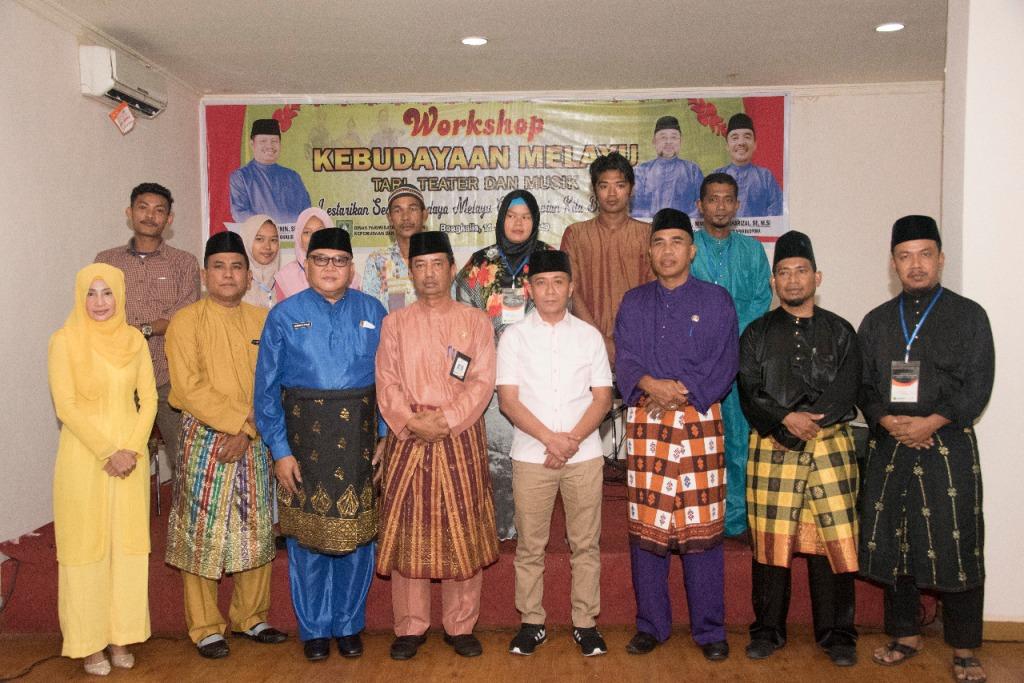 Disparbudpora Bengkalis Gelar Kegiatan Workshop Kebudayaan Melayu