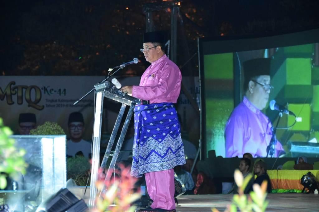 "Pj Sekda Riau, ""MTQ ke-44 Bengkalis di Mandau, Seperti MTQ Tingkat Provinsi Riau"""
