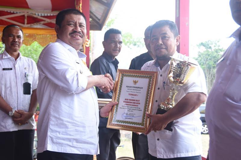 Lomba BBGRM 2019, Tanjung Belit Juara I, Damai dan Berancah Terbaik II dan III