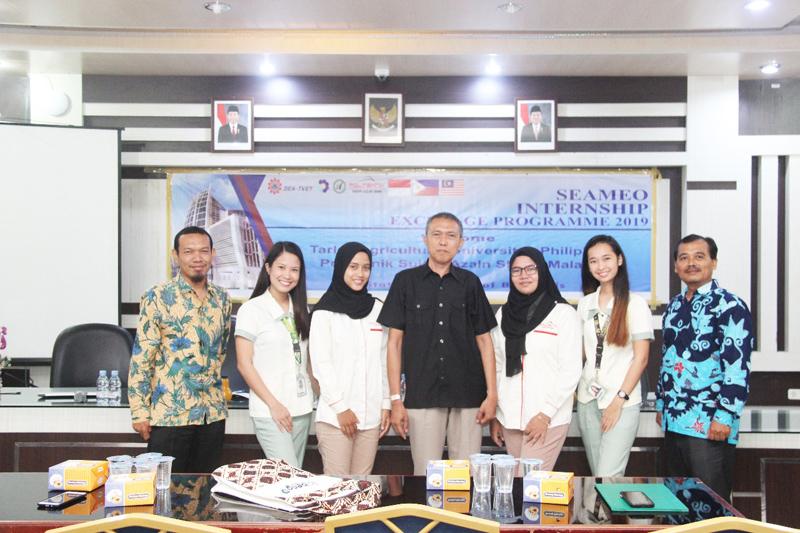 Polbeng Terima Mahasiswa Magang dari Filipina dan Malaysia