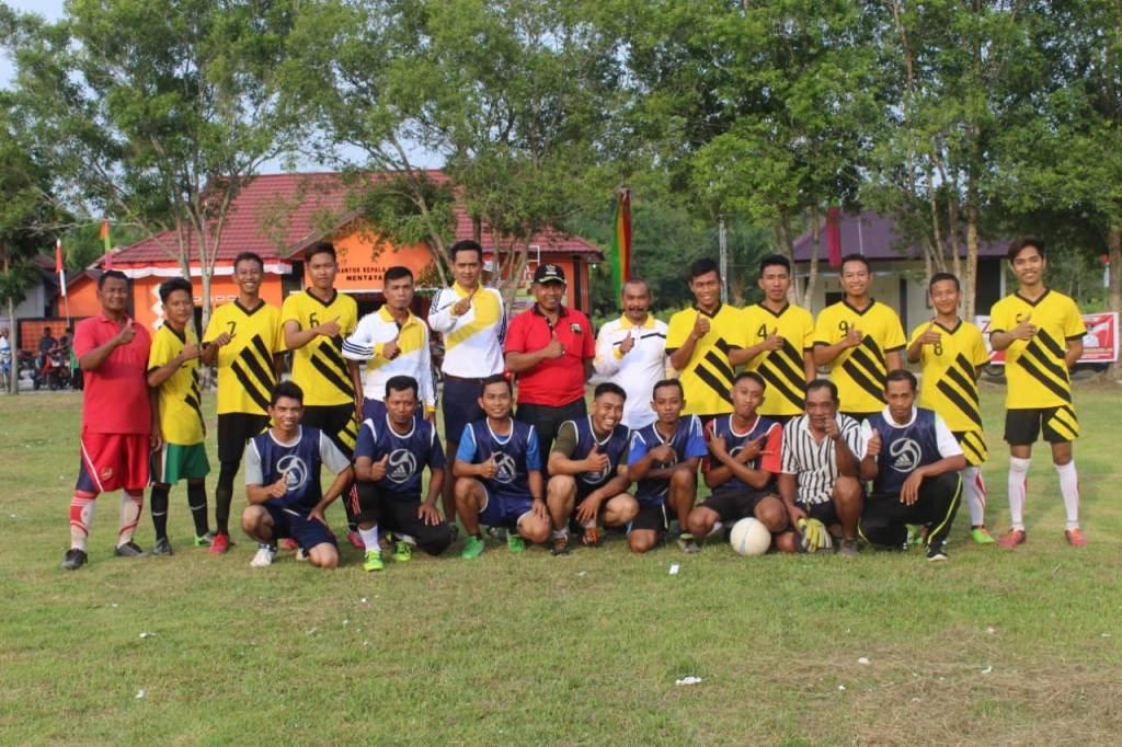 Karang Taruna Mentayan Gelar Mini Soccer