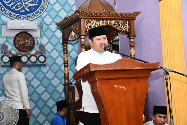Bupati Bengkalis Himbau Masyarakat Rupat untuk Waspada Karlahut