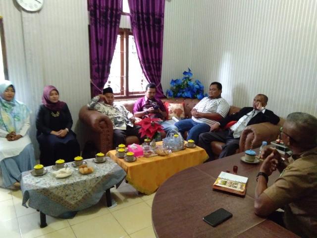 Dosen Polbeng Melaksanakan Pengabdian Masyarakat di Kantor Desa Sungai Alam