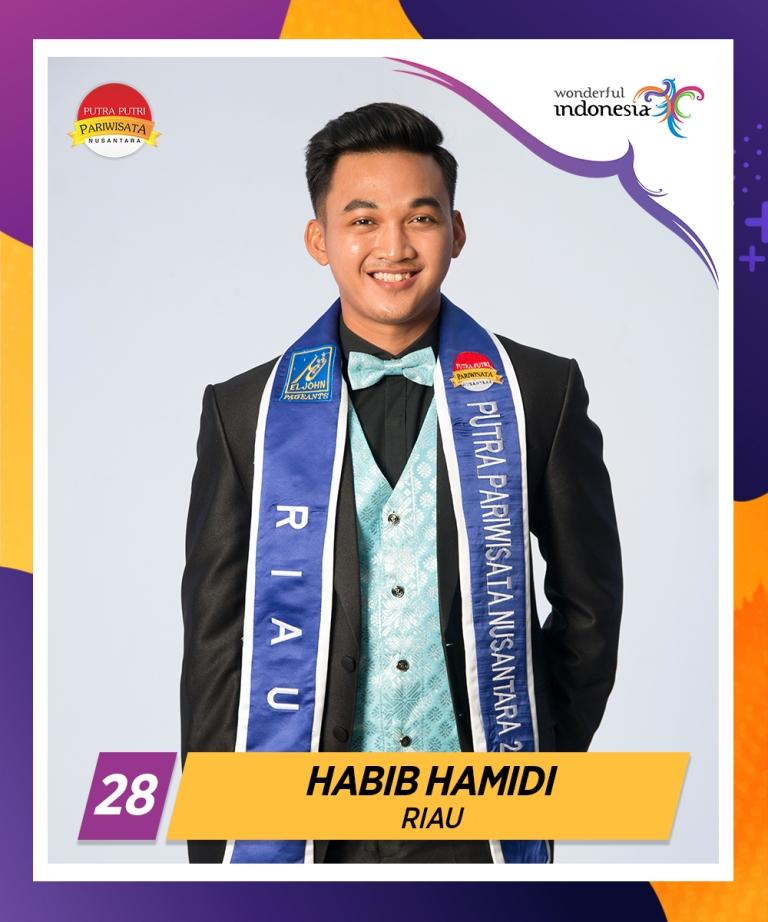 Wakili Riau, Habib Hamidi Rebut Runner Up III Pemilihan Putra Putri Pariwisata Nusantara 2019