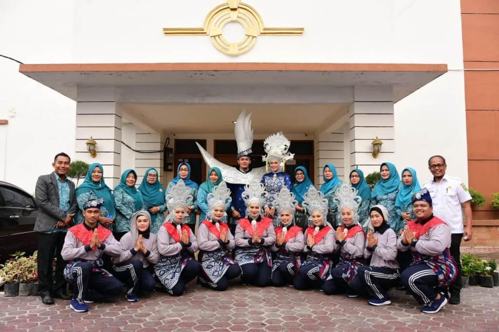 Akna Juwita Hadiri Jambore Kader PKK Provinsi Riau