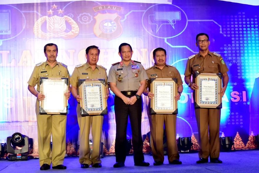 Senin Depan, Bupati Amril Mukminin Terima Penghargaan dari Kemenkumham di Jakarta