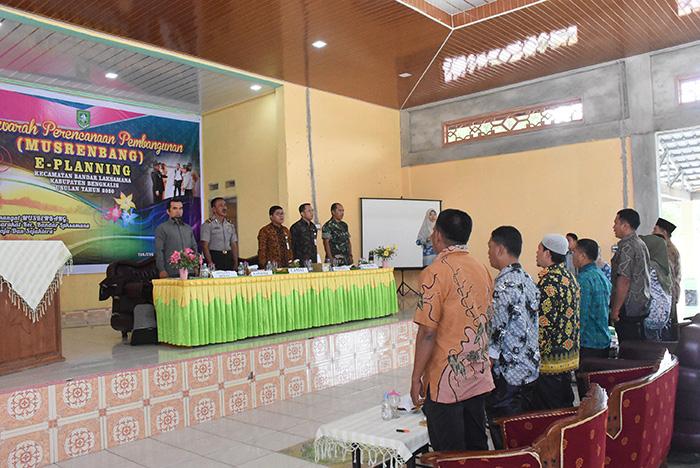 Musrenbang Kecamatan Bandar Laksamana 2019, Prioritaskan Sektor Wisata dan Pertanian