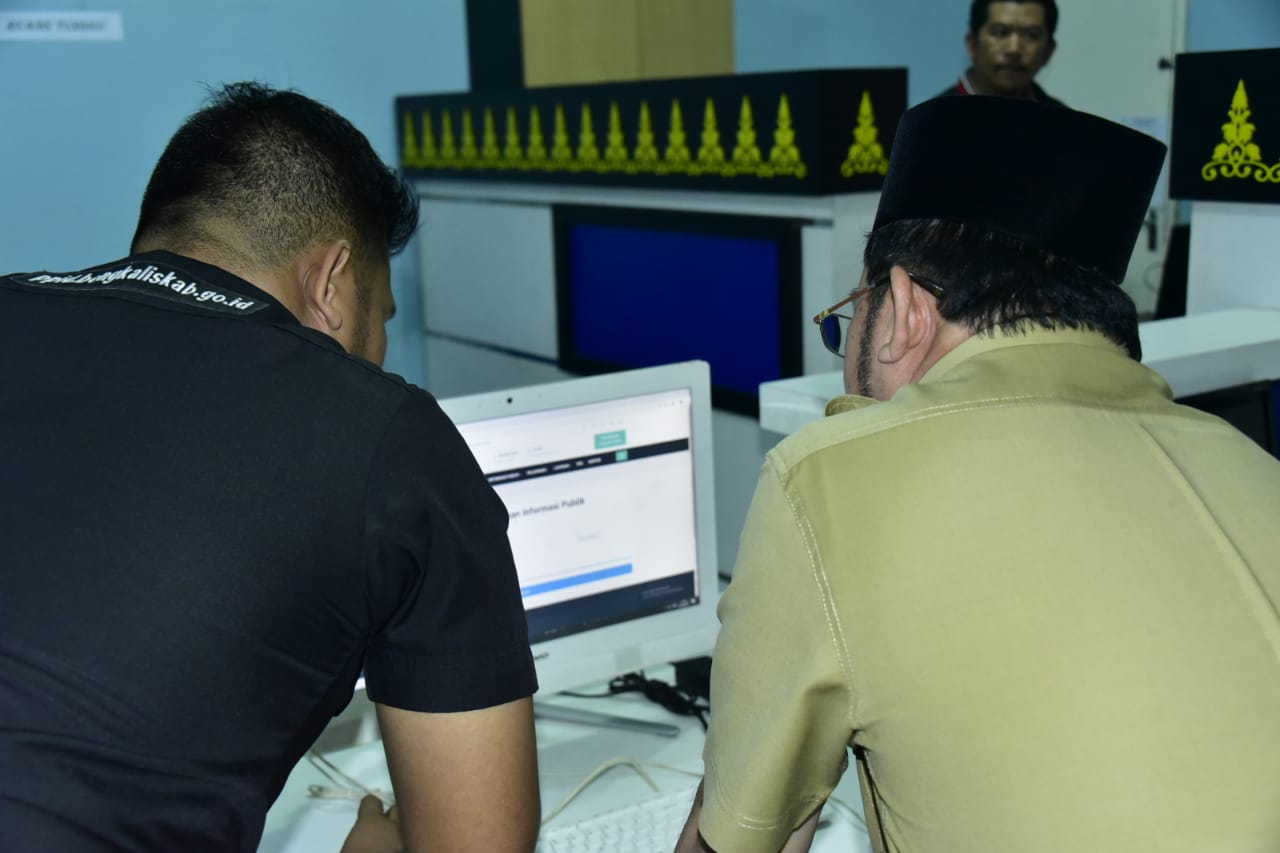 PLID Diskominfotik Siap Layani Permintaan Informasi Secara Online