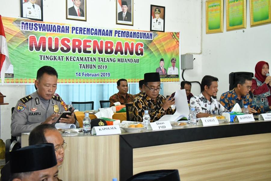 "Camat Talang Muandau Ruslan: ""Tahun 2019 ini Jalan Jenderal Sudirman Beringin Dibangun Pemkab Bengkalis"""