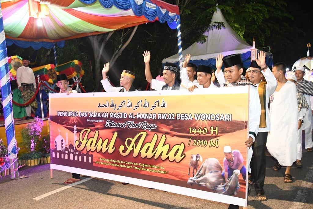 Berikut Pemenang Lomba Pawai Takbir Idul Adha 1440 H