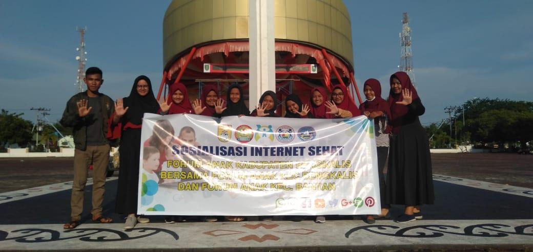 Fankebtan dan Fankalis Gelar Sosialisasi Internet Sehat