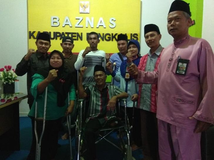 Lewat Baznas, 8 Warga Disabilitas Bakal Punya Kaki Palsu