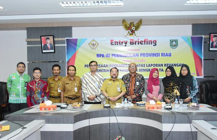 Selama 30 Hari, BPK RI Perwakilan Riau Melaksanakan Pemeriksaan Keuangan