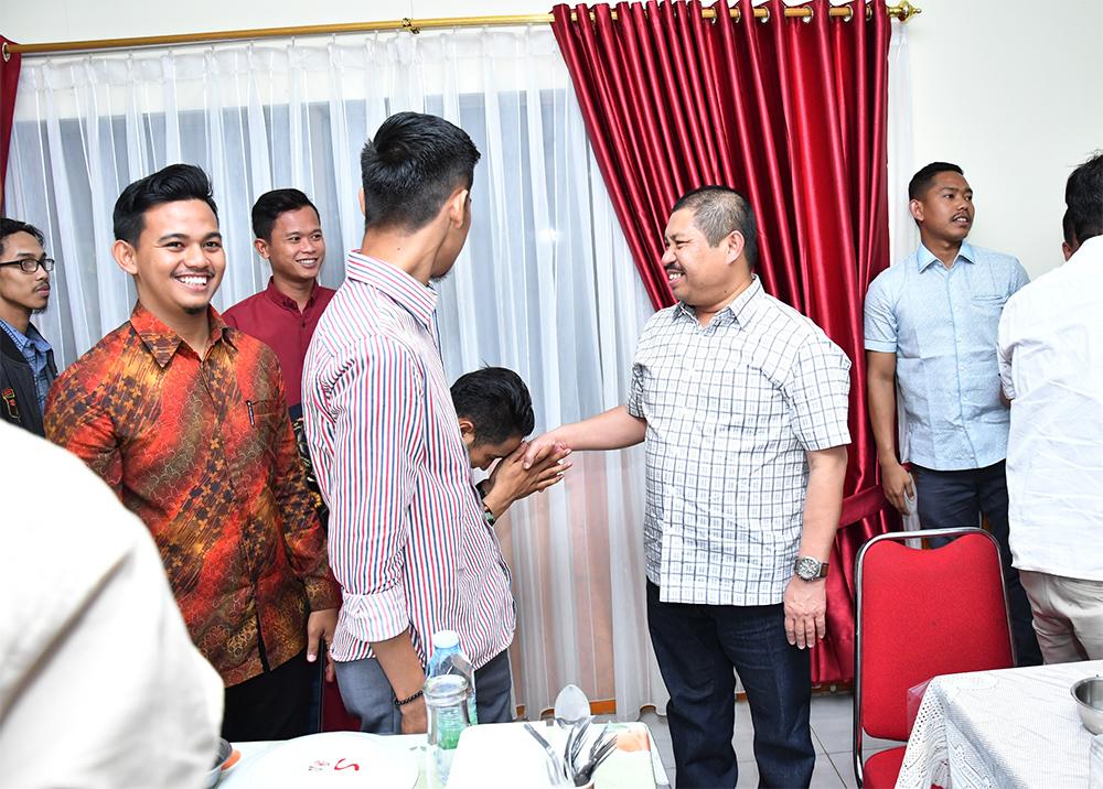 Bupati Amril Mukminin Ajak Mahasiswa Jangan Golput pada Pemilu Serentak 2019