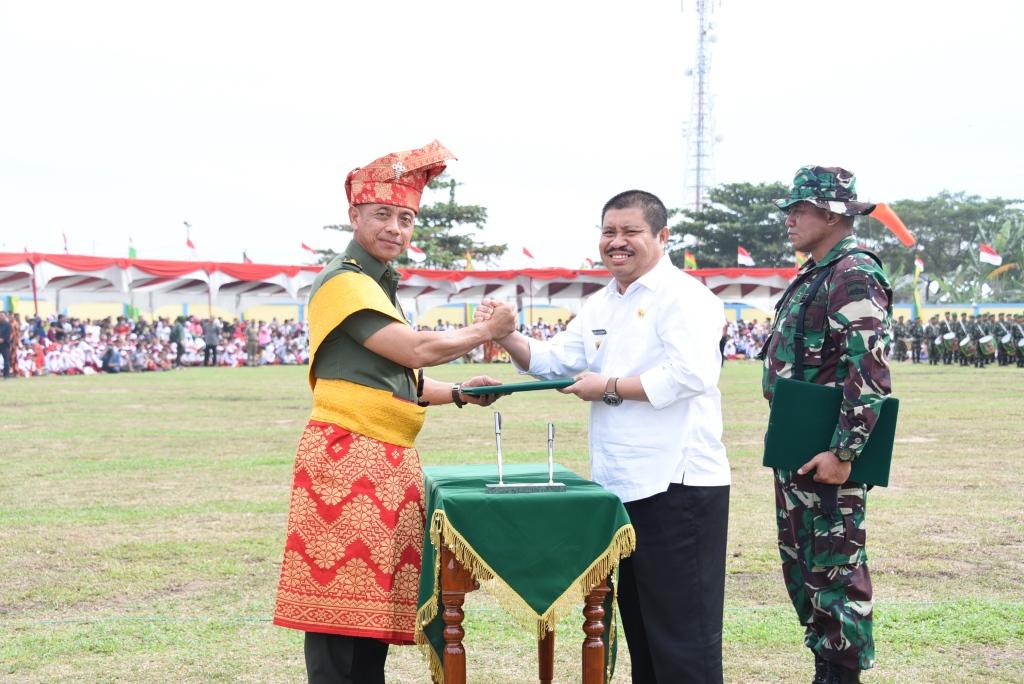 """Kasad Jenderal Mulyono: """"Secara Nasional TMMD 2018 Melibatkan 50 Satgas"""""""