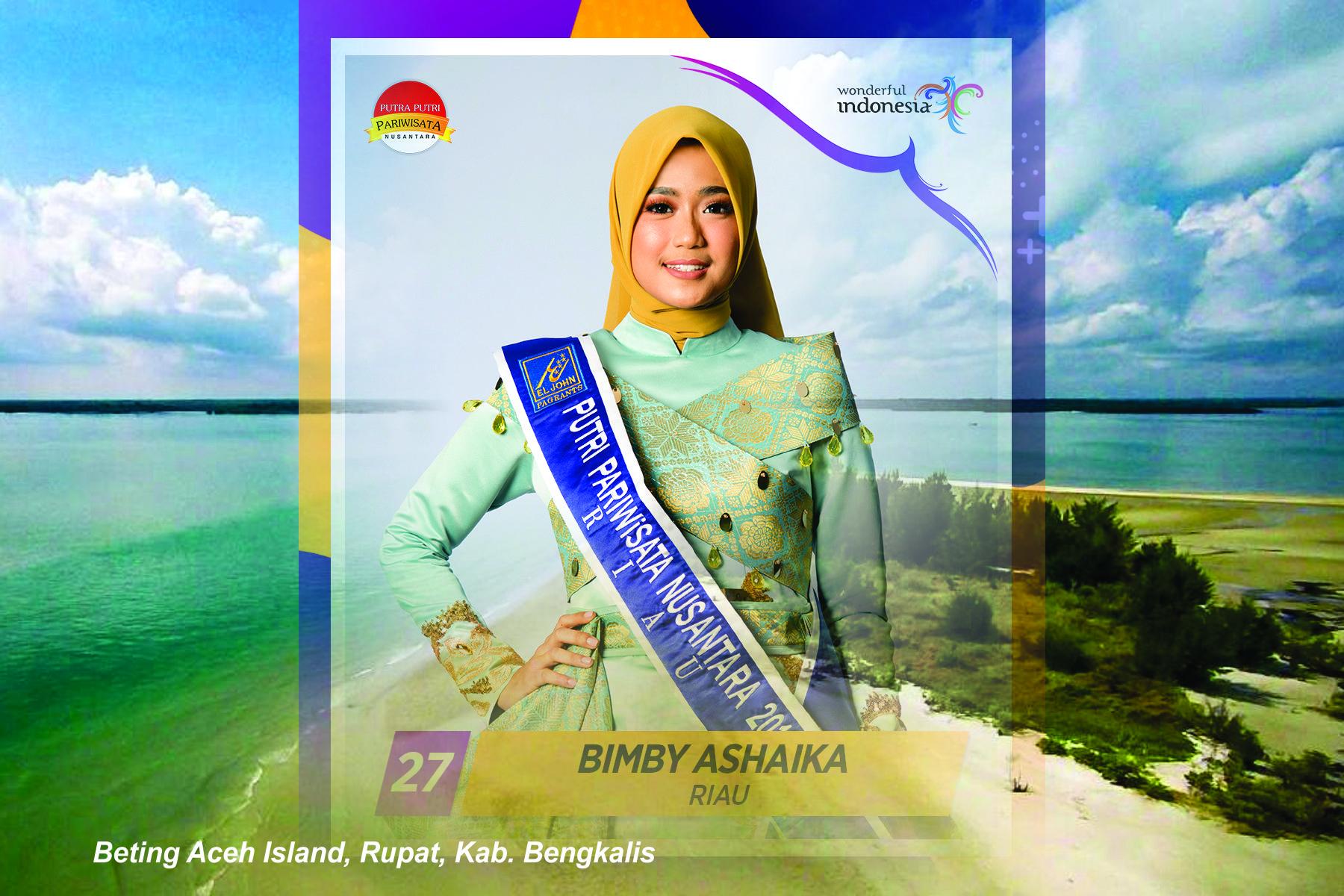 Masih Runner Up, Bimby Ashaika Masih Harapkan Dukungan Masyarakat Riau