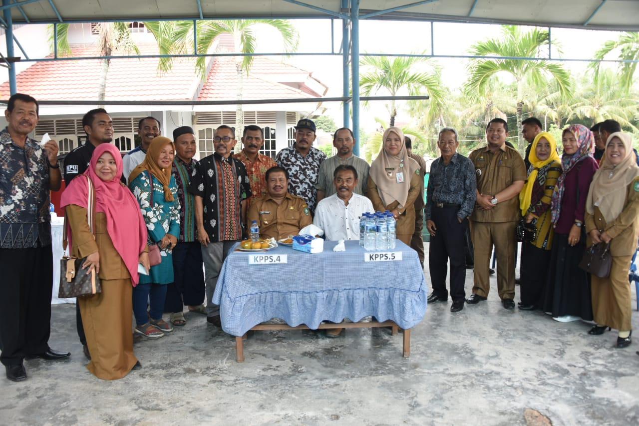 Bupati Amril Mukminin, Himbau Warga Ramai-Ramai Datangi TPS