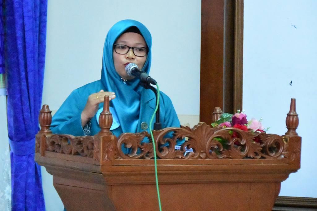 Siti Rahayu Sampaikan Pidato Mengenai Pencegahan Stunting Melalui 10 Program Pokok PKK