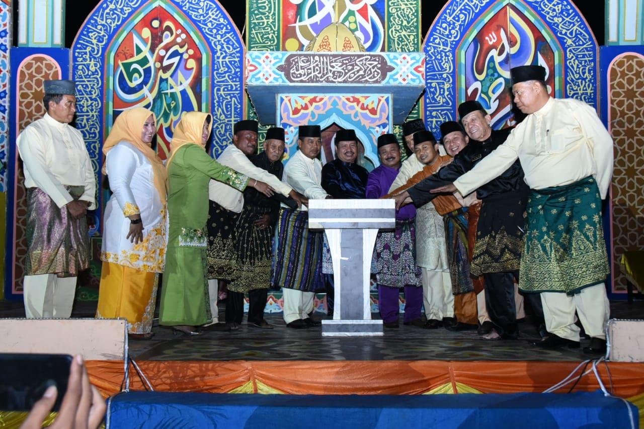 Amril Mukminin Resmi Buka MTQ ke-XXX Tingkat Kecamatan Bukit Batu