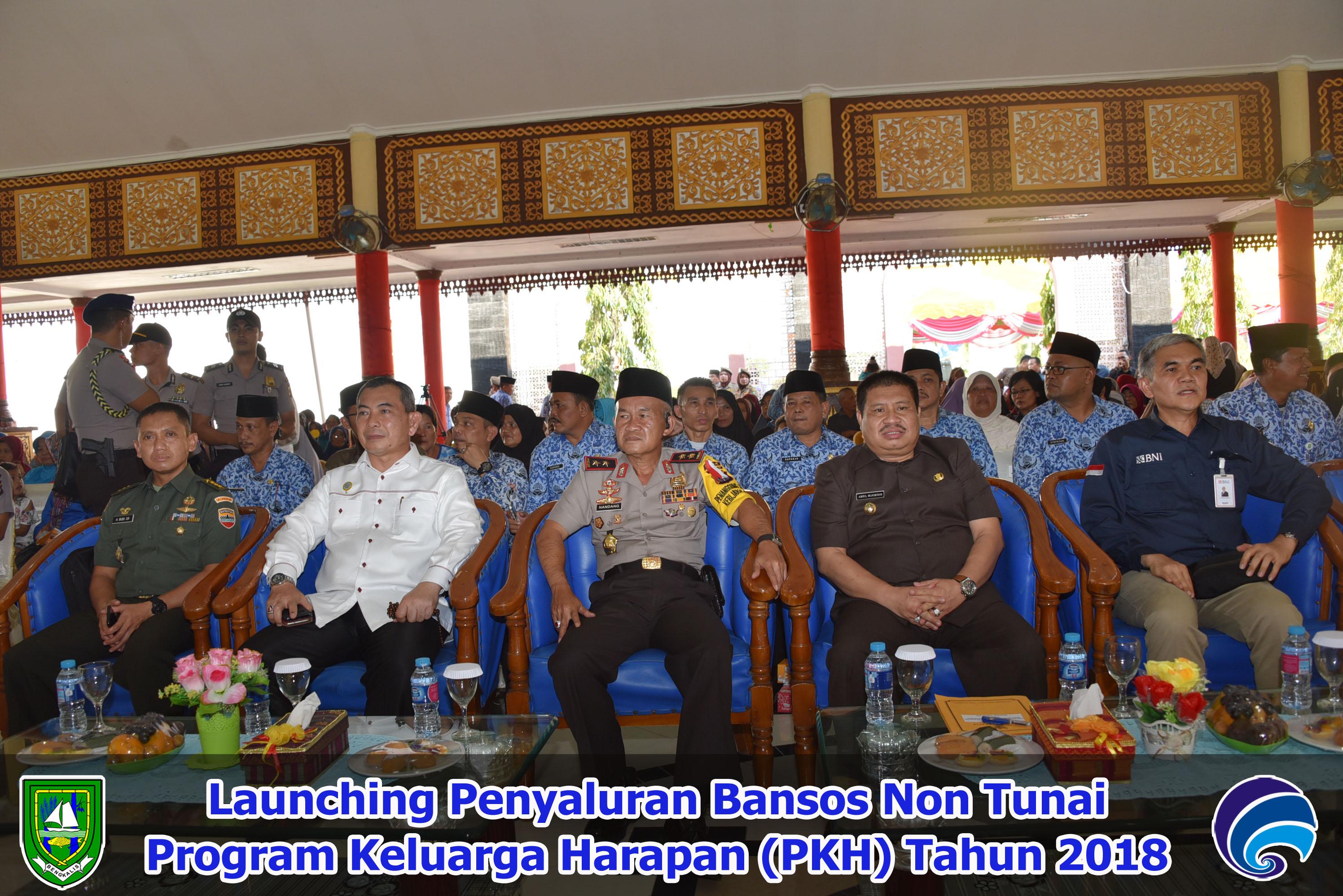 Launching Penyaluran Bansos Non Tunai PKH Tahun 2018